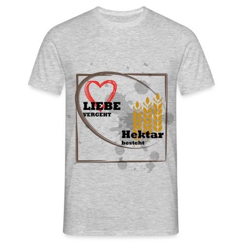 Liebe_Hektar - Männer T-Shirt