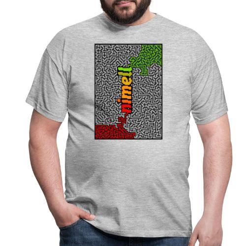 nimell maze - T-shirt herr