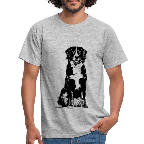 Berner Sennenhund Hunde Design Geschenkidee - Männer T-Shirt