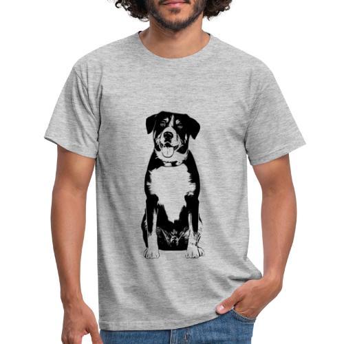Entlebucher Sennenhund Hunde Design Geschenkidee - Männer T-Shirt