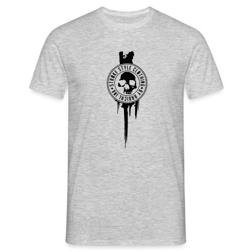 patch stroke pfade - Männer T-Shirt