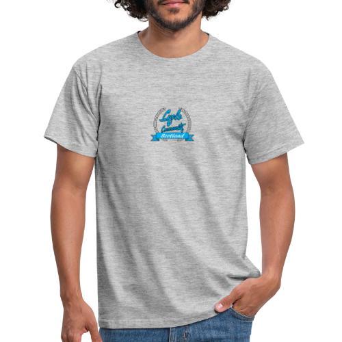cycle community scotland blue logo tee - Men's T-Shirt