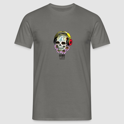 smiling_skull - Men's T-Shirt