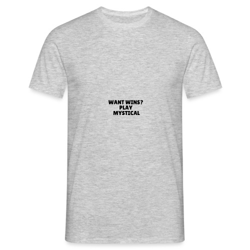 Want wins Play mystical - Herre-T-shirt
