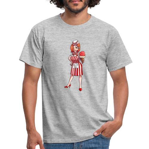 Mannheim   Mannheimer Eisdealer - Männer T-Shirt