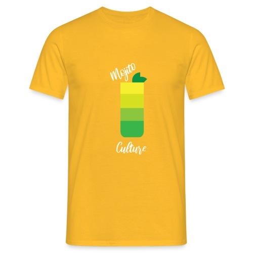 Cocktail Mojito estate 2020 seltz+menta+rum - Maglietta da uomo