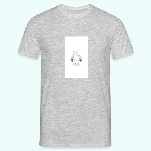 I don't care, I'm a unicorn - Men's T-Shirt