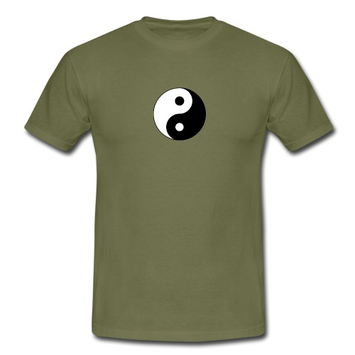 Yin Yang balance in life - Men's T-Shirt