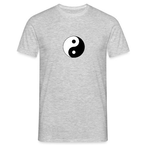 Yin Yang balance in life - Men's T-Shirt
