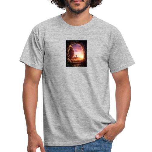 He is rising - Men's T-Shirt
