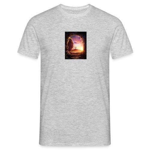 He is rising - Men's T-Shirt