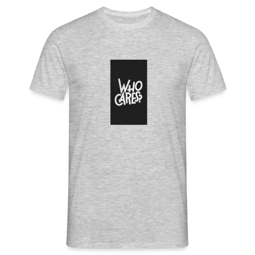 WHO CARES ? - T-shirt Homme