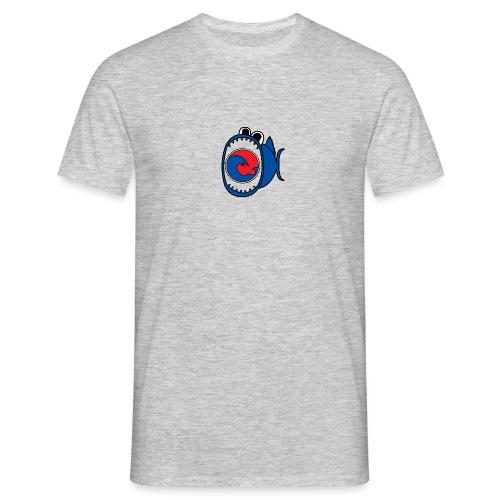 201607 Tuna Wave Logo (PADI Blue / Red PADI) - Men's T-Shirt