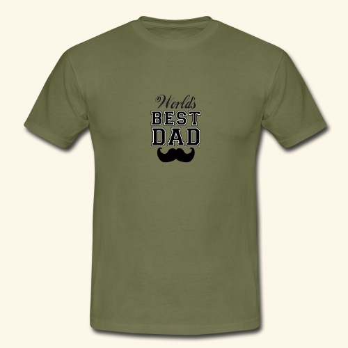 Worlds best dad - Herre-T-shirt