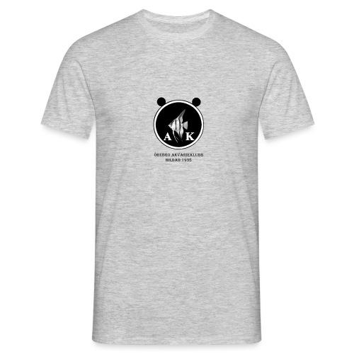 oeakloggamedsvarttext - T-shirt herr