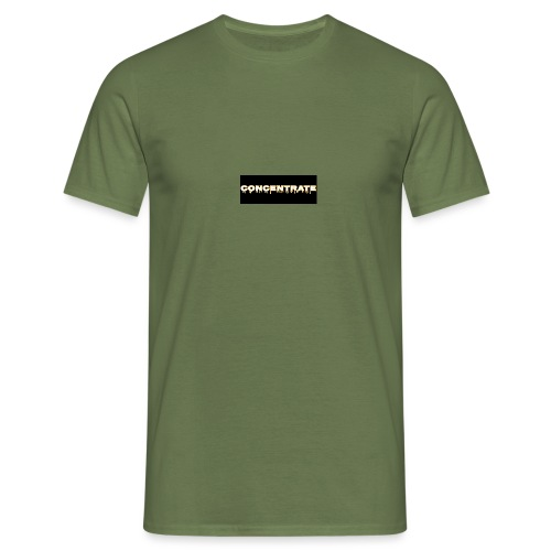 Concentrate on black - Men's T-Shirt