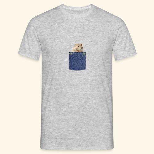 hamster in the poket - Maglietta da uomo