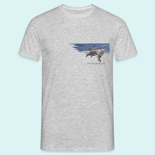Polar-Blues-SpSh - Men's T-Shirt