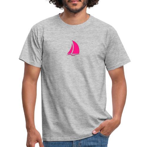 ISOLOGO VELLA PINK - Camiseta hombre