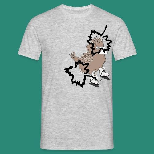 Ein Spatz - Männer T-Shirt