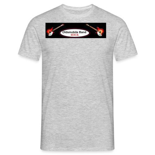 Oldsmobile-Band-Logo5 - Männer T-Shirt