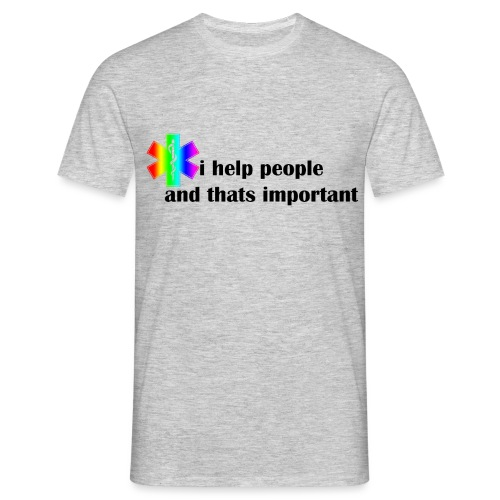 Emergency Gay Services - Mannen T-shirt