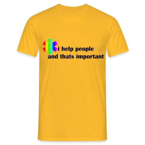 Emergency Gay Services - Mannen T-shirt