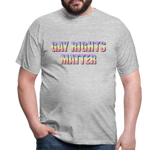 Gay Rights Matter pastel - Miesten t-paita
