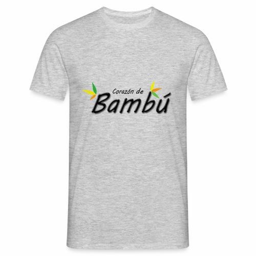 Corazón de bambú - Camiseta hombre