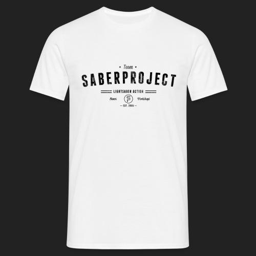 Vintage Lightsaber Action - Männer T-Shirt