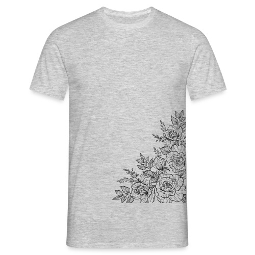 FLORES - Camiseta hombre
