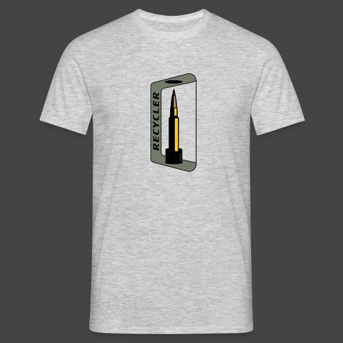 """""""RECYCLER""""-Shirt für Wiederlader und Jäger - Männer T-Shirt"""