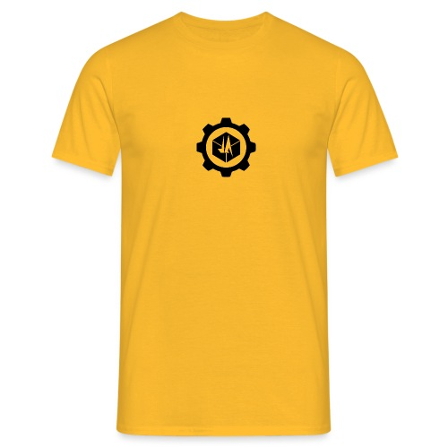 Jebus Adventures Logo (Transparent) - Men's T-Shirt