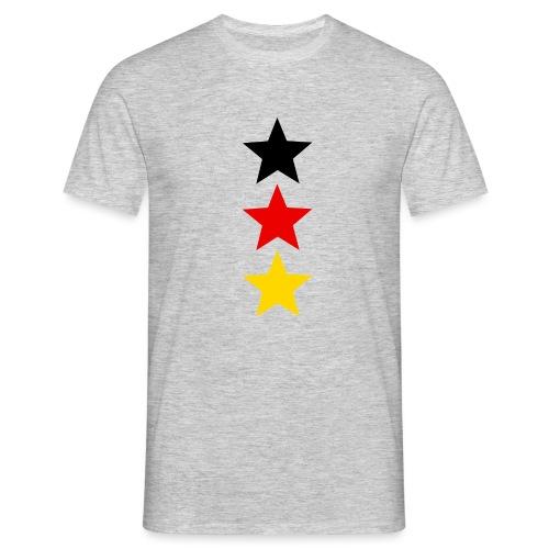 3 Sterne Deutschland #1 - Männer T-Shirt