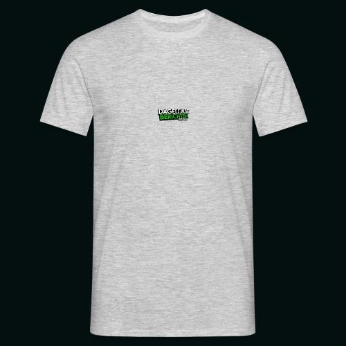 Dagelijkse Berichten Tshirt Logo v1 - Mannen T-shirt