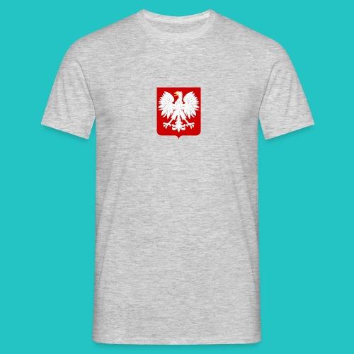 Koszulka z godłem Polski - Koszulka męska