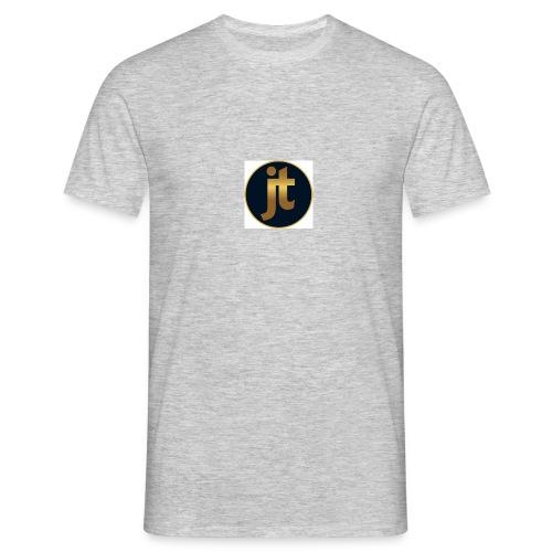 Golden jt logo - Men's T-Shirt