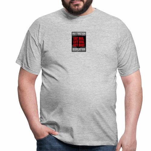 Motivation gym - T-shirt herr