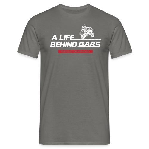 ABT White Reverse - Men's T-Shirt