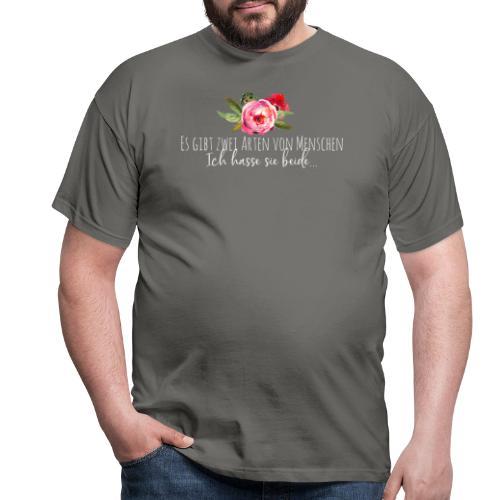 Arten von Menschen - Männer T-Shirt
