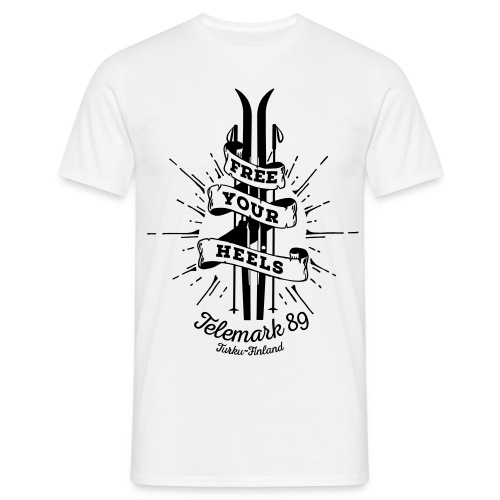 FreeYourHeels_merge - Miesten t-paita