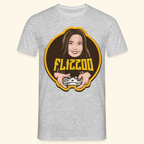 Flizzoo Portrait - T-shirt herr
