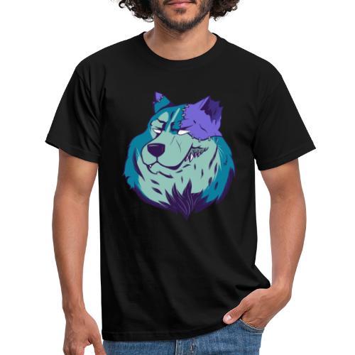 Husky zombie - Camiseta hombre