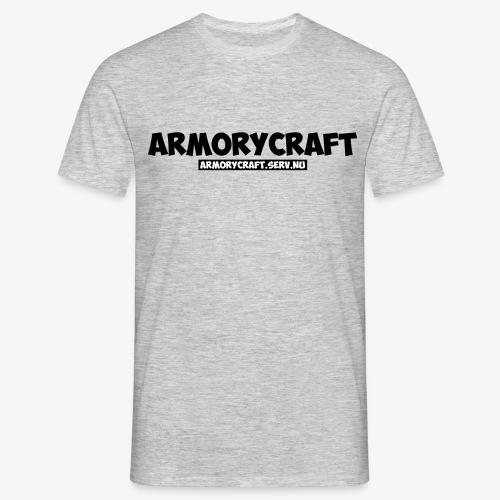 ArmoryCraft- Mannen korte mouw - Mannen T-shirt