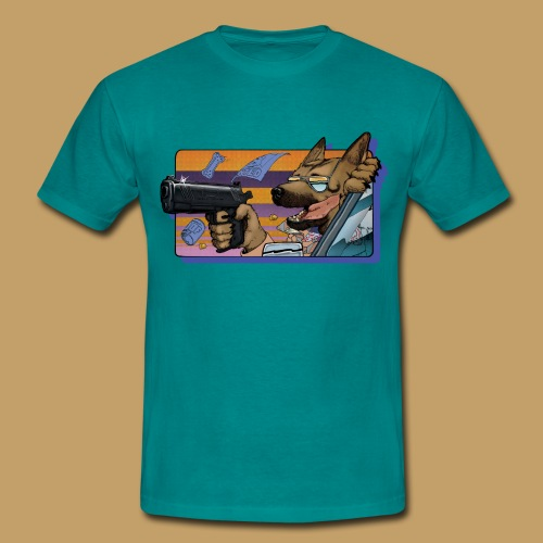 Gun Dog - bez napisu - Koszulka męska
