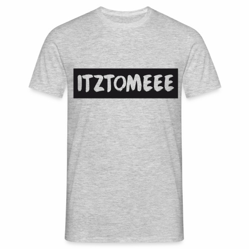 ItzTomeee Logo Black - Men's T-Shirt