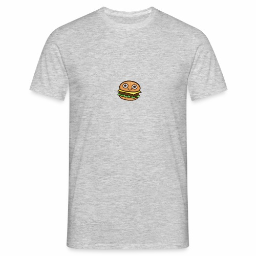 Burger Cartoon - Mannen T-shirt