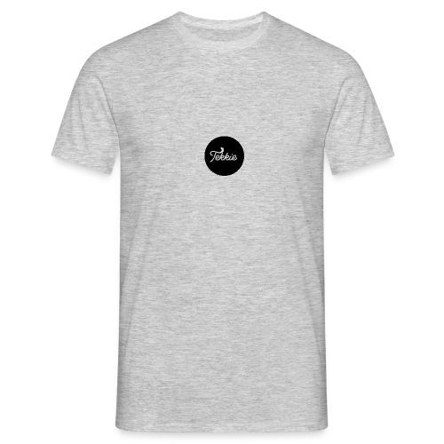 Tekkie Black Logo - Mannen T-shirt