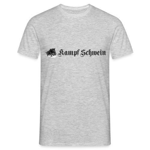 Kampfschwein - Männer T-Shirt