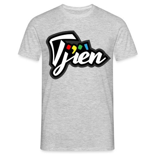 Tjien Logo Design - Mannen T-shirt